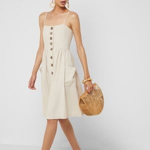 Forever 21 Button-front Dress